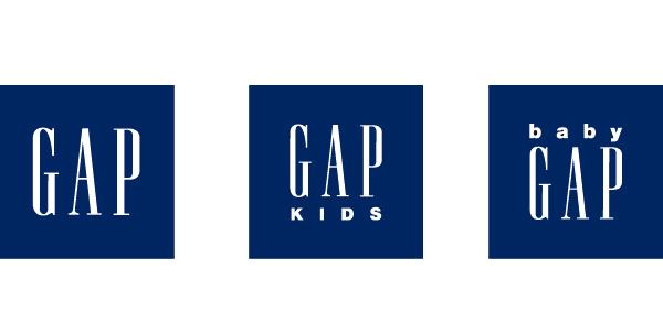 ロゴ:Gap / Gap Kids