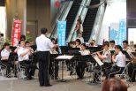写真:北九州市消防音楽隊×カナル・ヴィオラコラボイベント