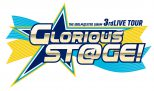ロゴ:「THE IDOLM@STER SideM 3rdLIVE TOUR 〜GLORIOUS ST@GE!〜」ライブビューイング