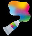 ロゴ:みちべの彩 淡彩画