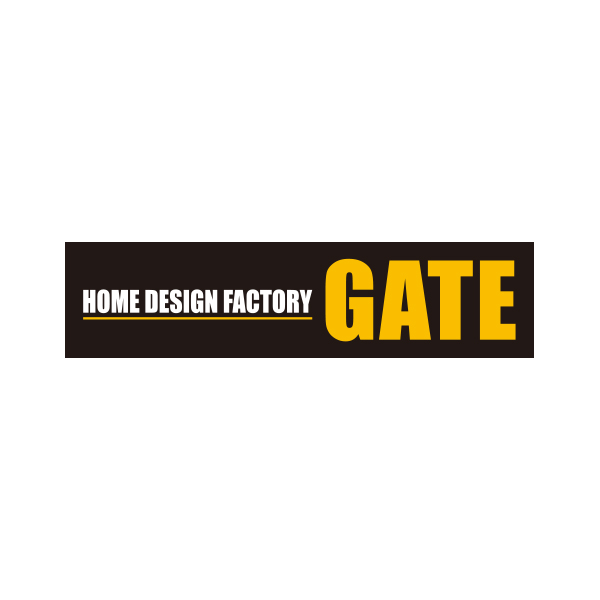 "ロゴ:HOME DESIGN FACTORY""GATE"""